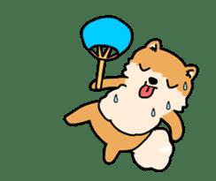 Cute Pomeranian Animation sticker #11857954