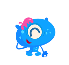 Monsters Animation sticker #11858192