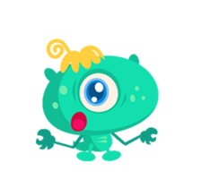 Monsters Animation sticker #11858194
