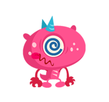 Monsters Animation sticker #11858199