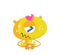 Monsters Animation sticker #11858203