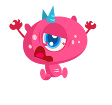 Monsters Animation sticker #11858204
