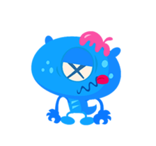 Monsters Animation sticker #11858205