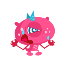 Monsters Animation sticker #11858206