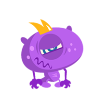 Monsters Animation sticker #11858207