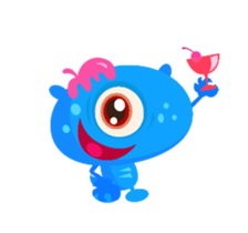 Monsters Animation sticker #11858210