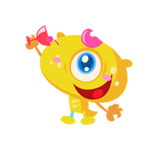 Monsters Animation sticker #11858211