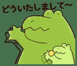 A funny crocodile 2 sticker #11858625
