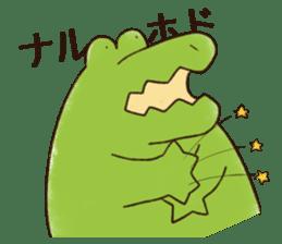 A funny crocodile 2 sticker #11858628