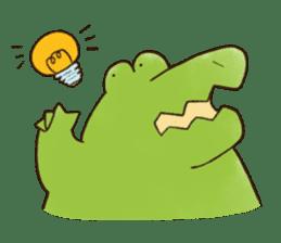 A funny crocodile 2 sticker #11858629
