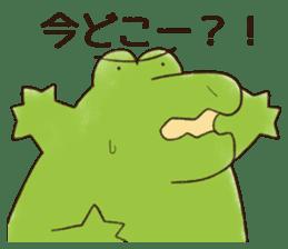 A funny crocodile 2 sticker #11858633