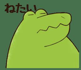 A funny crocodile 2 sticker #11858636
