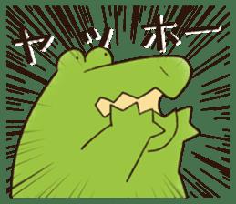 A funny crocodile 2 sticker #11858637