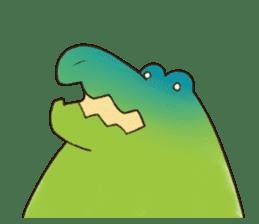 A funny crocodile 2 sticker #11858646