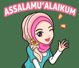 Hijab Kekinian sticker #11861974