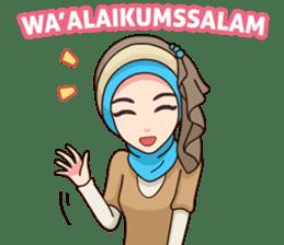 Hijab Kekinian sticker #11861975