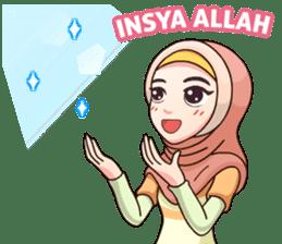 Hijab Kekinian sticker #11861976