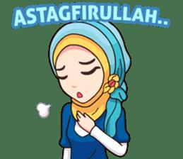 Hijab Kekinian sticker #11861978
