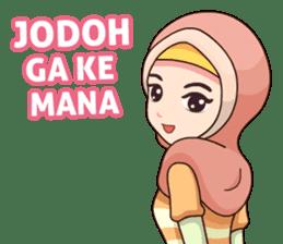 Hijab Kekinian sticker #11861981
