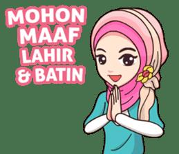 Hijab Kekinian sticker #11861982