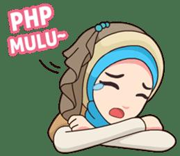 Hijab Kekinian sticker #11861985