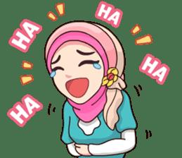 Hijab Kekinian sticker #11861988