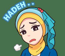 Hijab Kekinian sticker #11861990
