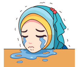 Hijab Kekinian sticker #11861992