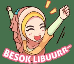Hijab Kekinian sticker #11862006