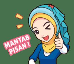 Hijab Kekinian sticker #11862008