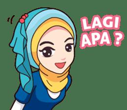 Hijab Kekinian sticker #11862010