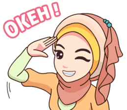 Hijab Kekinian sticker #11862011