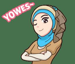 Hijab Kekinian sticker #11862012