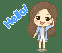 Rina Office Girl (English) sticker #11865294