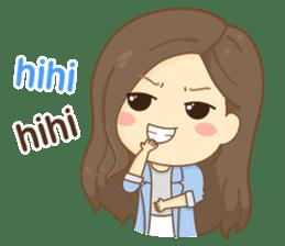 Rina Office Girl (English) sticker #11865297