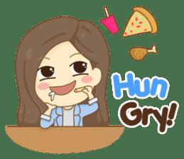 Rina Office Girl (English) sticker #11865299