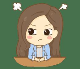 Rina Office Girl (English) sticker #11865307