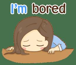 Rina Office Girl (English) sticker #11865315