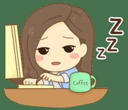Rina Office Girl (English) sticker #11865316
