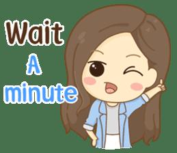 Rina Office Girl (English) sticker #11865320