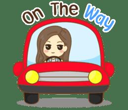 Rina Office Girl (English) sticker #11865321
