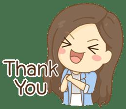 Rina Office Girl (English) sticker #11865326