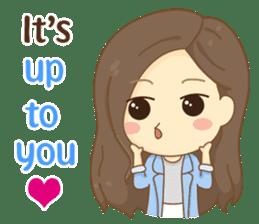 Rina Office Girl (English) sticker #11865329