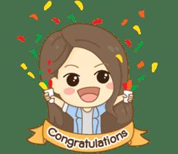 Rina Office Girl (English) sticker #11865331