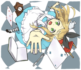 Pom's Alice sticker #11868569