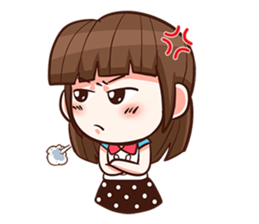 She want to be a Perfect girl + sticker #11869299