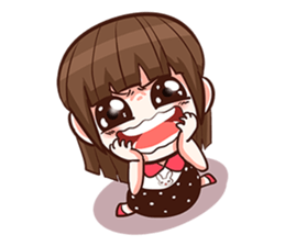 She want to be a Perfect girl + sticker #11869315