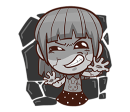 She want to be a Perfect girl + sticker #11869328