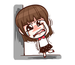 She want to be a Perfect girl + sticker #11869331