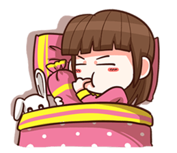 She want to be a Perfect girl + sticker #11869332